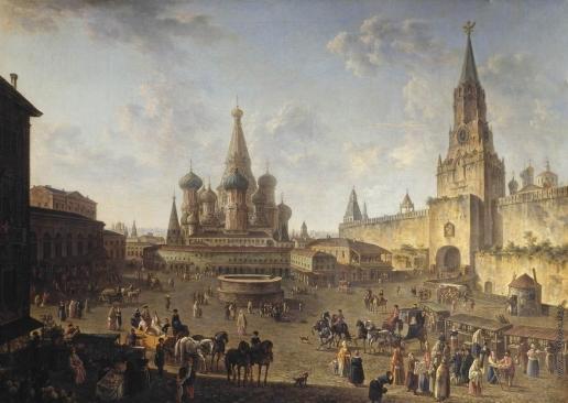 Алексеев Ф. Я. Красная площадь в Москве