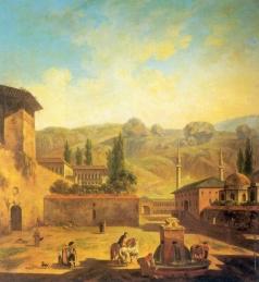 Алексеев Ф. Я. Вид города Бахчисарая