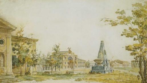 Алексеев Ф. Я. Площадь в Херсоне