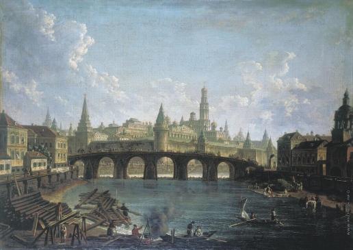 Алексеев Ф. Я. Вид на Московский Кремль со стороны Каменного моста