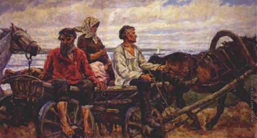 Кончаловский П. П. Возвращение с базара