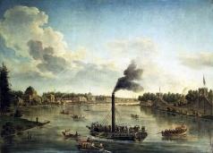 Васильев Т. А. Вид островов в Санкт-Петербурге