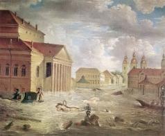 Алексеев Ф. Я. 7 ноября 1824 года на площади у Большого театра