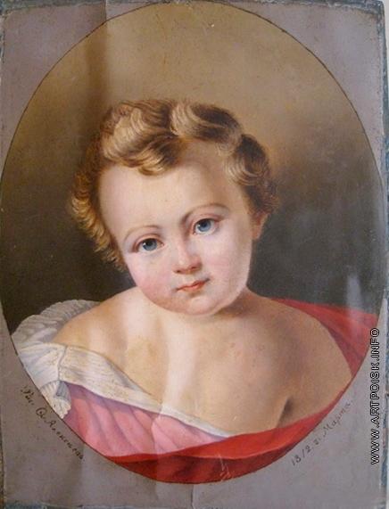 Алексеев Ф. Я. Портрет внука