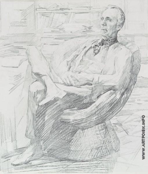 Муравский Н. А. Набросок