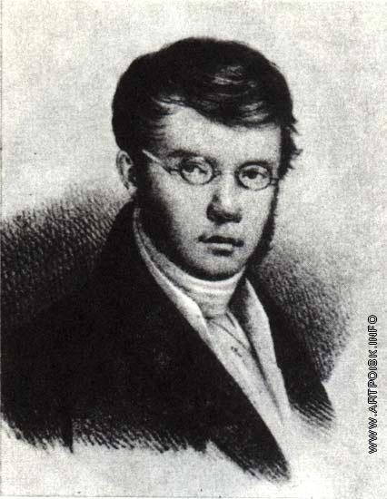 Беггров К. П. Портрет П.А. Вяземского