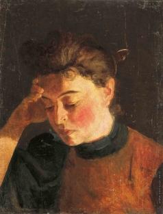 Алисов М. А. Женский портрет