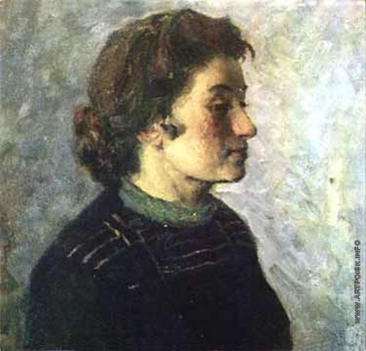 Максимов К. М. Портрет жены