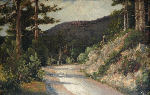 Алисов М. А. Лесной пейзаж