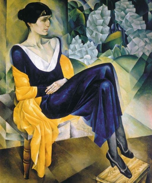 Альтман Н. И. Портрет поэтессы Анны Андреевны Ахматовой