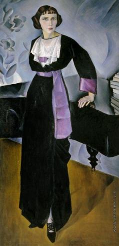 Альтман Н. И. Дама у рояля