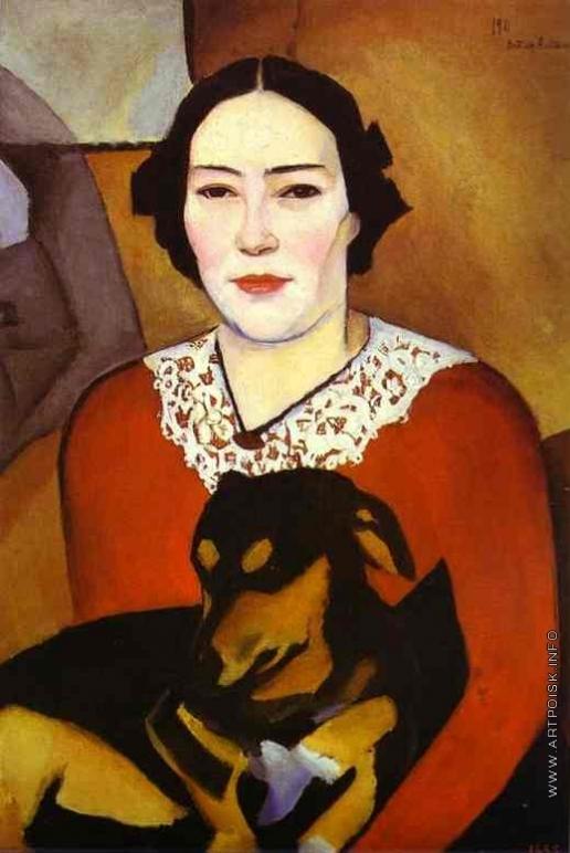 Альтман Н. И. Портрет еврейской женщины