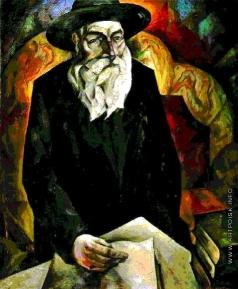 Альтман Н. И. Старый еврей (портрет дяди Н.Альтмана)