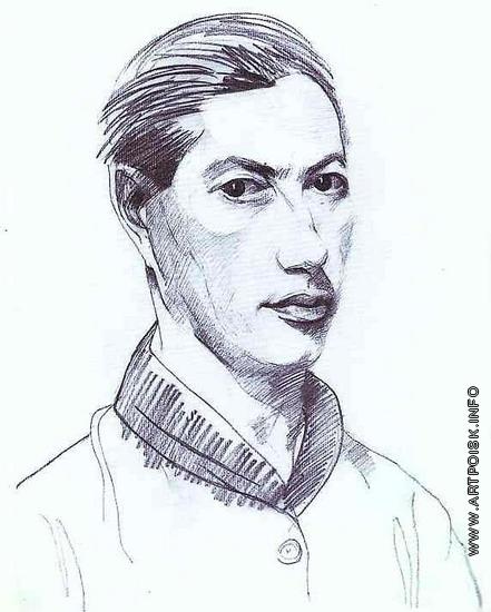 Альтман Н. И. Автопортрет