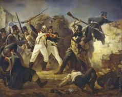 Бабаев П. И. Подвиг гренадера лейб-гвардии Финляндского полка Л. Коренного в битве под Лейпцигом в 1813 году