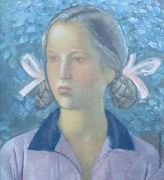 Самохвалов А. Н. Портрет девочки