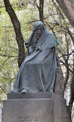 Андреев Н. А. Памятник Н.В. Гоголю