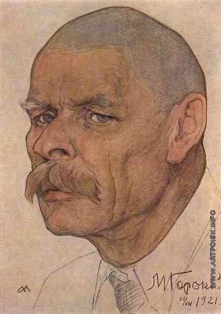 Андреев Н. А. Портрет Горького