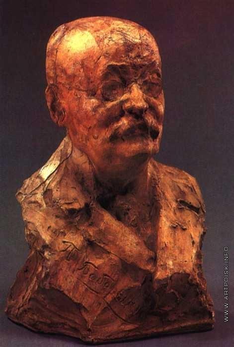 Андреев Н. А. Портрет писателя П. Д. Боборыкина