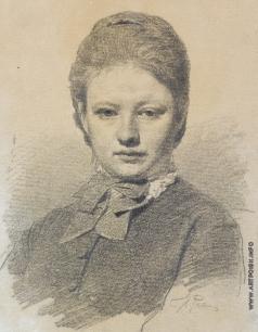 Репин И. Е. Портрет Софии Репиной