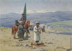 Зоммер Р. К.  Имам Шамиль в Кавказских горах