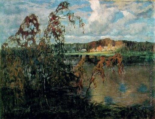 Федорович В. Н. Осенний вечер на озере