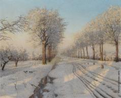 Бессонов Б. В.  Зимний закат
