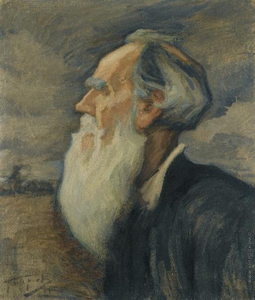Пастернак Л. О. Портрет Льва Толстого
