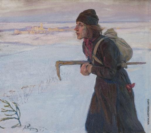 Корин А. М. Монах