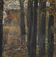 Бродский И. И. Осенний пейзаж