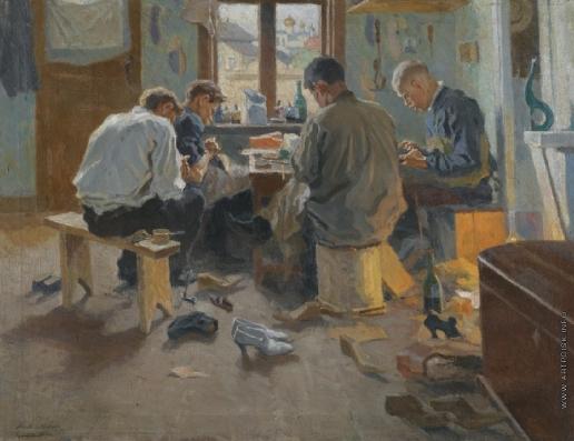 Лаховский А. Б. Сапожники