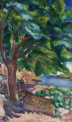 Нивинский И. И. Пейзаж в Гурзуфе