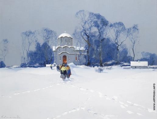 Колесников С. Ф. Из храма