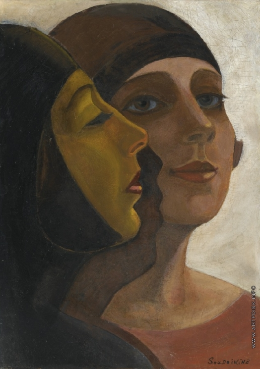 Судейкин С. Ю. Портрет двух девушек