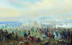 Виллевальде Б. П. Бой под Лейпцигом в 1813 году