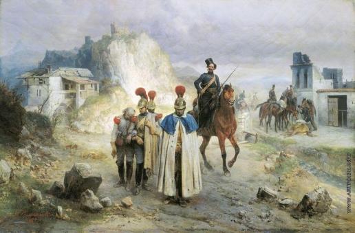 Виллевальде Б. П. Они попали в плен в 1814 году