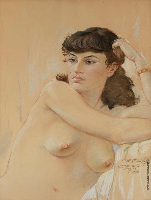 Вещилов К. А. Женский портрет