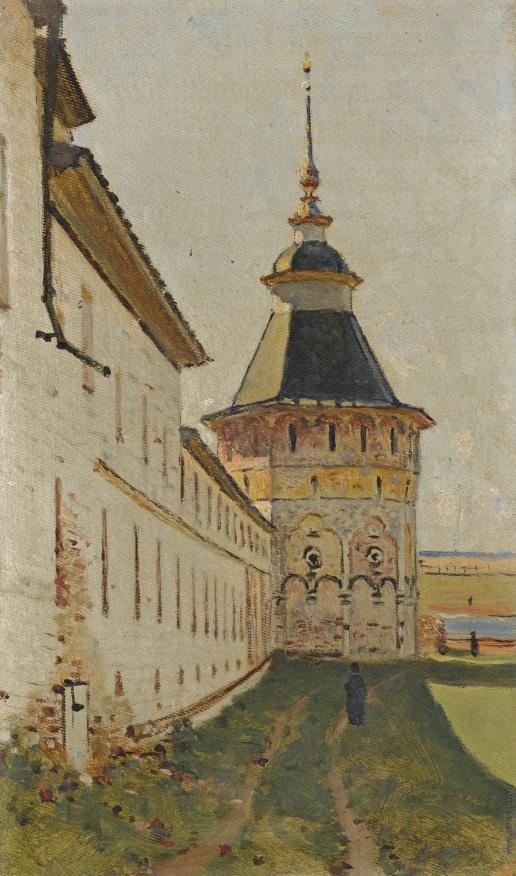 Верещагин В. В. Монастырская башня