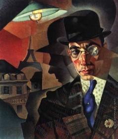 Анненков Ю. П. Портрет фотографа-художника М. А. Шерлинга