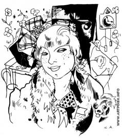 Анненков Ю. П. Иллюстрация к поэме А. А. Блока «Двенадцать»