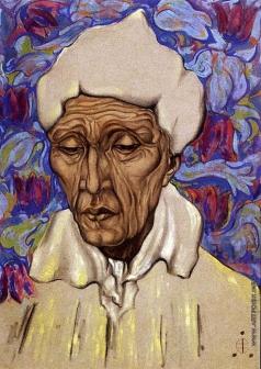 Рерих С. Н. Восточный портрет