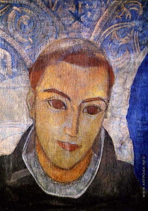 Рерих С. Н. Голова францисканского монаха