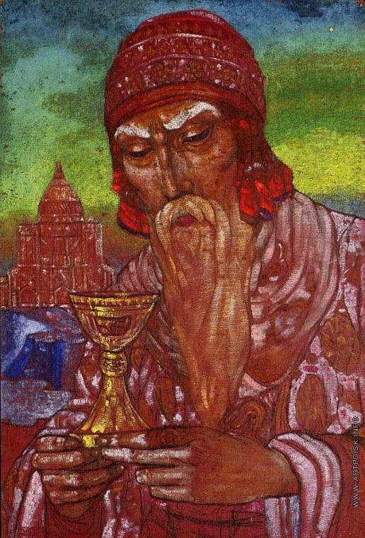 Рерих С. Н. Царь Соломон