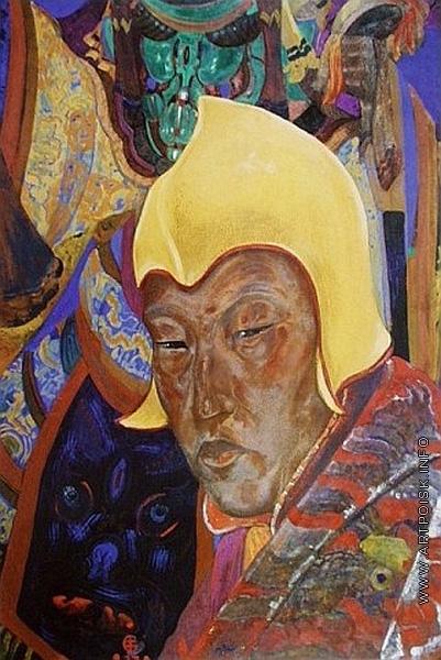 Рерих С. Н. Портрет ламы