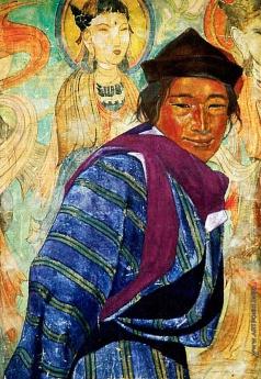 Рерих С. Н. Мужчина из племени бхутиа