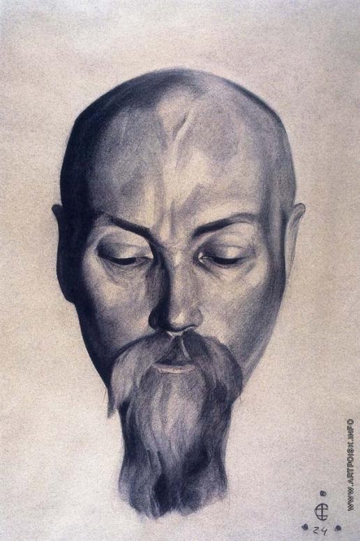 Рерих С. Н. Портрет Николая Рериха