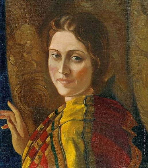 Рерих С. Н. Портрет Ираиды Богдановой