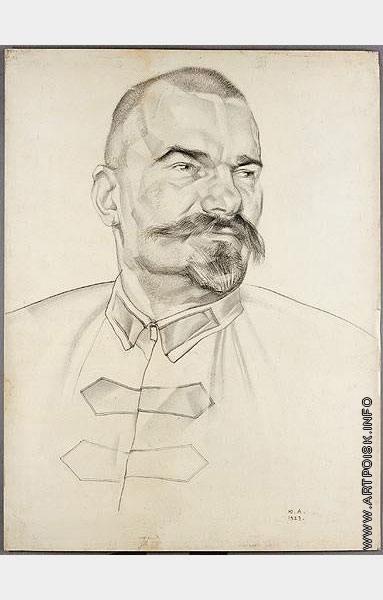 Анненков Ю. П. Портрет А.И. Муралова