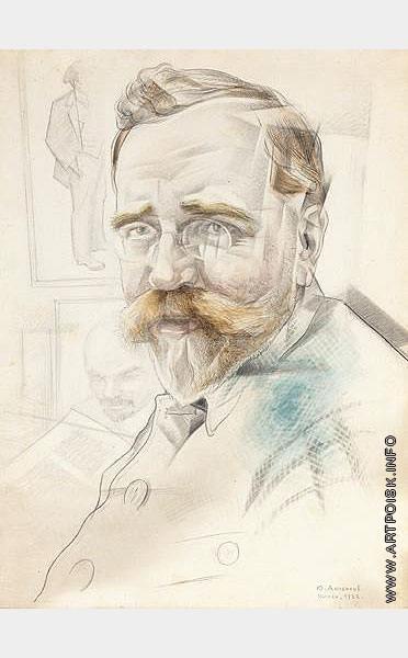 Анненков Ю. П. Портрет Л.Б. Каменева