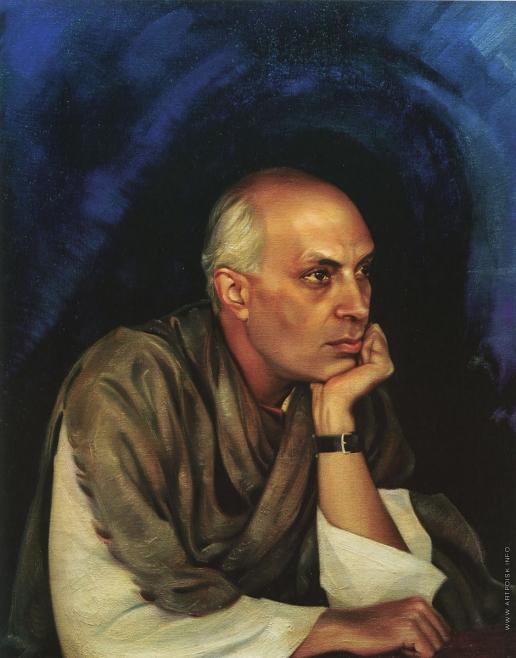 Рерих С. Н. Пандит Джавахарлал Неру